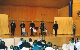 Quinteto Ibertcámara Álvaro Octavio Díaz (Flauta), Manuel Angulo (Oboe), José Miguel Lucas-Torres (Clarinete), Manuel A. Fez Olivares (Trompa), Eduardo Alaminos (Fagot), Alfonso Maribona (piano)